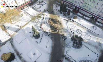 Licealiści zapraszają na śnieżnego poloneza