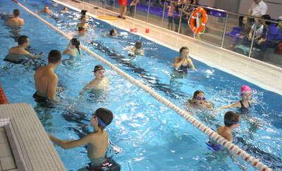 Aktywne ferie na basenie. Park Wodny Wilkasy zaprasza