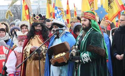 Orszak Trzech Króli po raz czwarty w Olsztynie