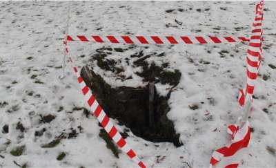 Dziura w placu Grunwaldzkim