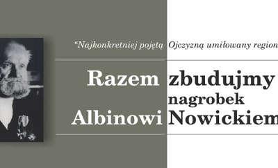 Nowy nagrobek Albina Nowickiego