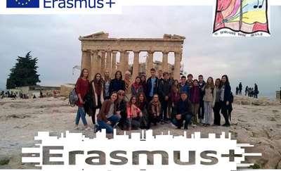 Grecka przygoda gimnazjalistów z Rozóg
