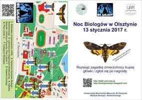 Noc Biologów 2017 już w piątek; rozwiąż zagadki, zdobądź nagrody