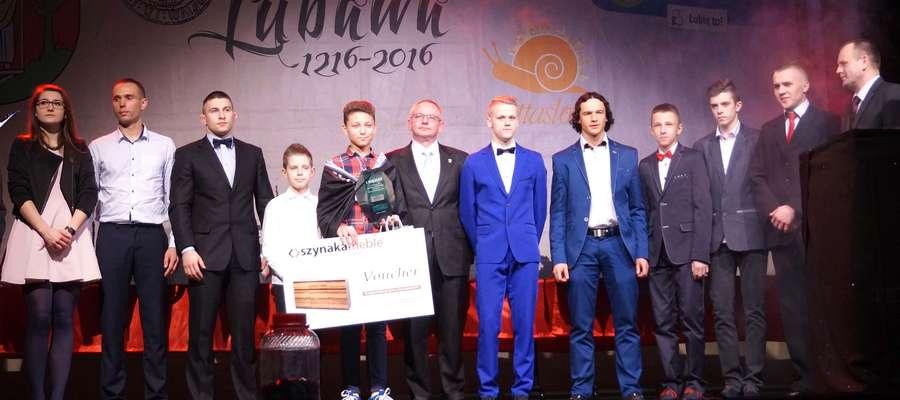 Laureaci naszej zabawy wystąpią przed publicznością na scenie podczas Gali Lubawskiego Sportu
