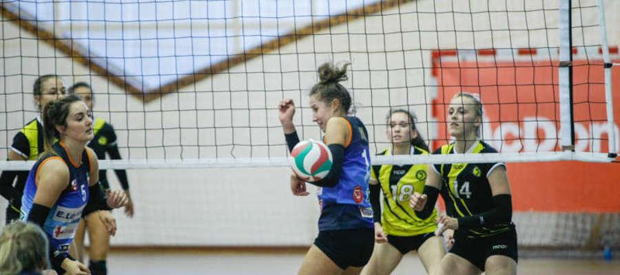 Elblążanki zagrały bez m.in. powołanej do kadry rozgrywającej Weroniki Wołodko