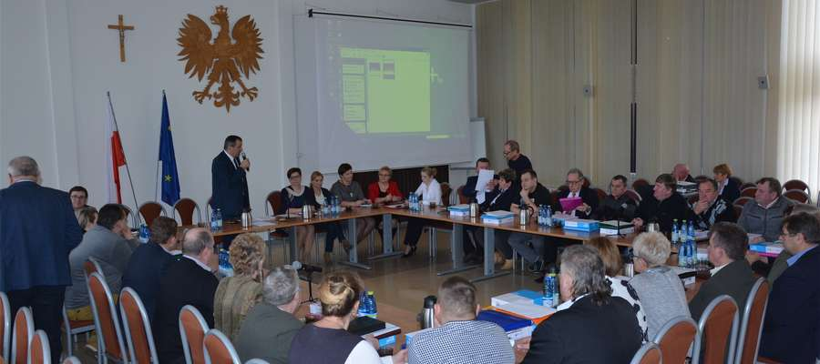 Doroczne spotkanie burmistrza z sołtysami gminy Olecko