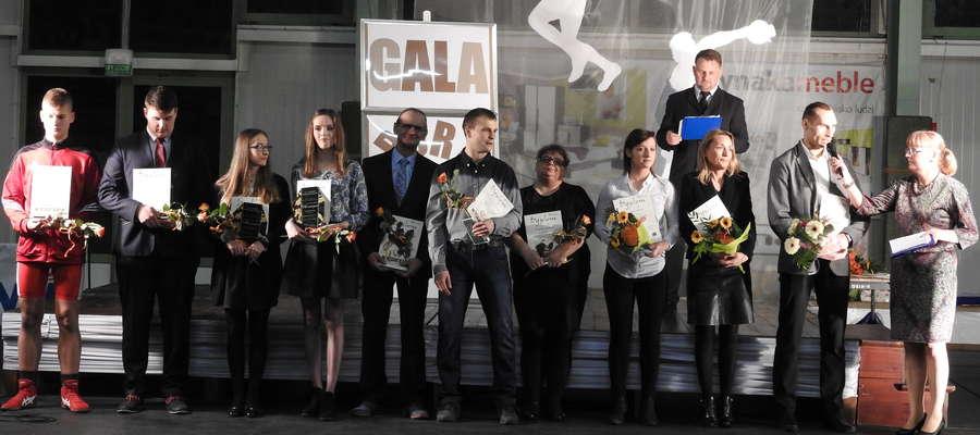 Laureaci ubiegłorocznego plebiscytu na Najpopularniejszego Sportowca Powiatu Nowomiejskiego 2015 roku