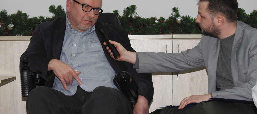 Pani Mirosław odpowiada na pytania Wojciecha Kirzeniewskiego