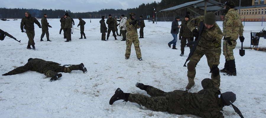 W pierwszych zimowych manewrach proobronnych Combat Alert bierze udział ponad 200 osób