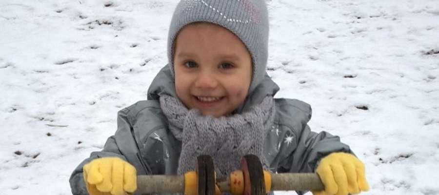 Amelia Dziemidow, Ełk, 2 latka