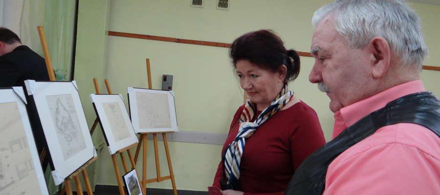 W Kiwitach można było obejrzeć wystawę poświęconą architektowi ogrodowemu Johannowi Larass.