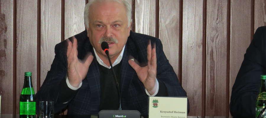 Krzysztof Hećman nie żegna się z życiem publicznym