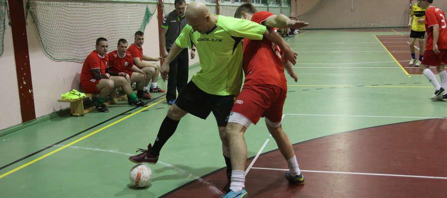 Mecz Deluxu z Łyną Sępopol z poprzedniej edycji futsalowych mistrzostw powiatu