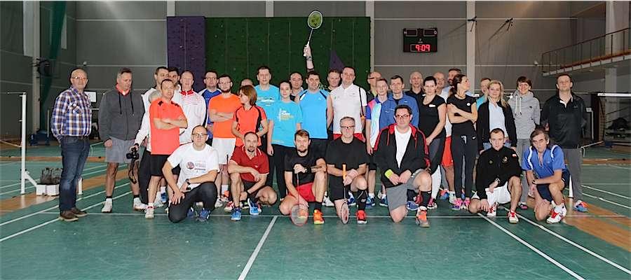 Uczestnicy VII Grand Prix WJM w badmintonie