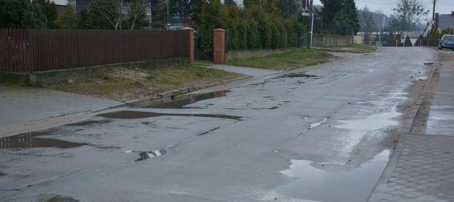 Ulica Kasztanowa doczeka się gruntownego remontu