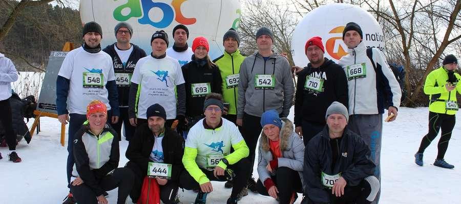 Ekipa biegowa z Olsztyna