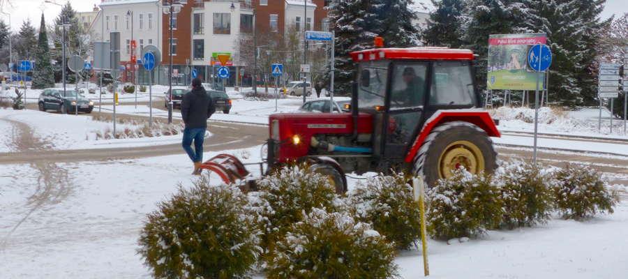 Odśnieżanie chodników- wtorek 3 stycznia