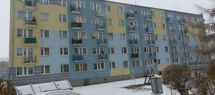 Do makabrycznego odkrycia zwłok noworodków doszło w tym bloku przy ul. Grunwaldzkiej 4