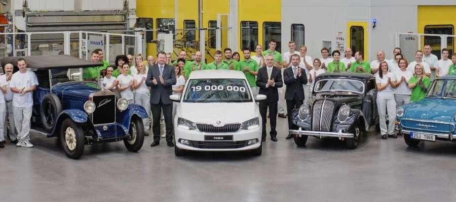19-milionowy samochód Skody