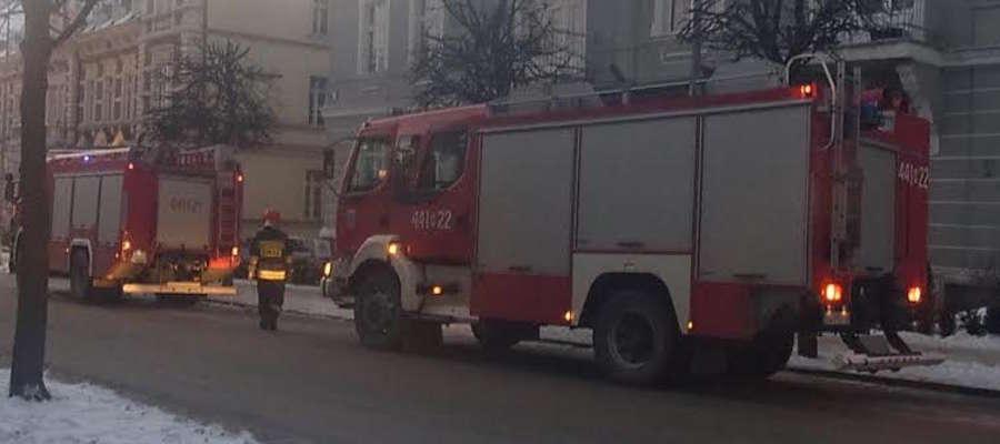 Wtorkowa interwencja na ulicy Dąbrowskiego