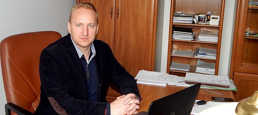 Tomasz Luto burmistrz Gołdapi
