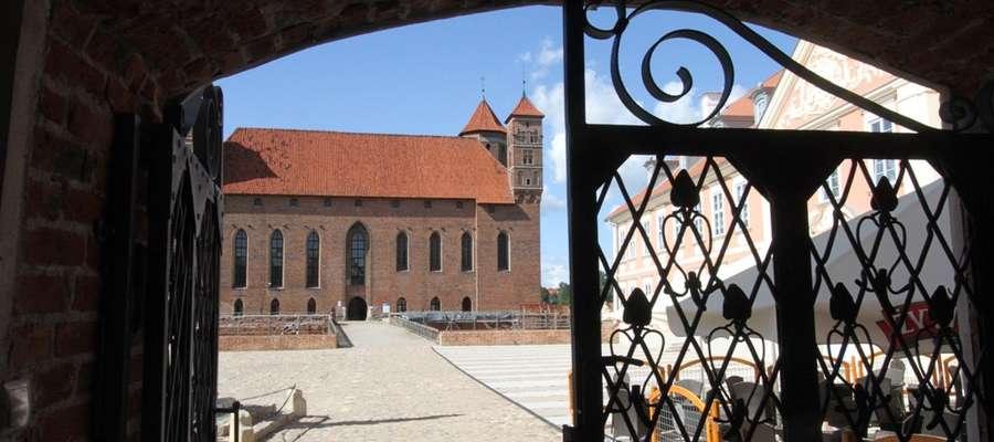 Zamek biskupów w Lidzbarku Warmińskim - jeden z najcenniejszych zabytków Warmii i Mazur