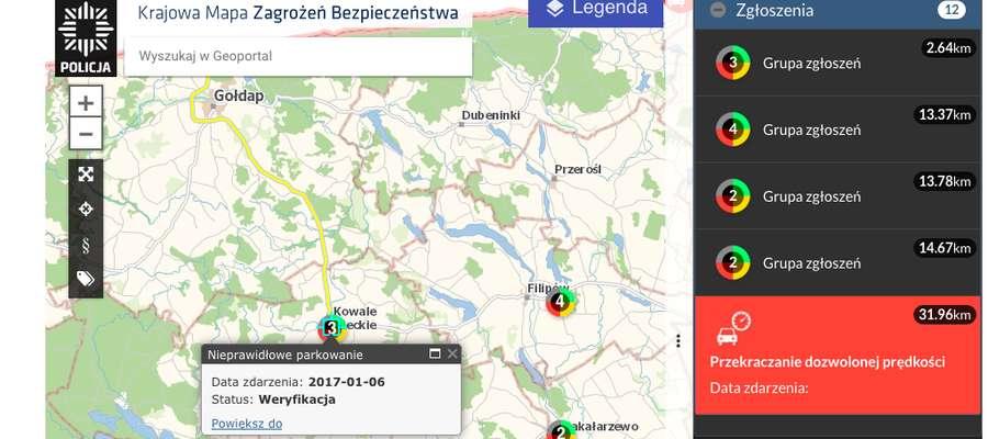 Obecnie w Gołdapi nie ma żadnych zgłoszeń, ale są w sąsiednich gminach