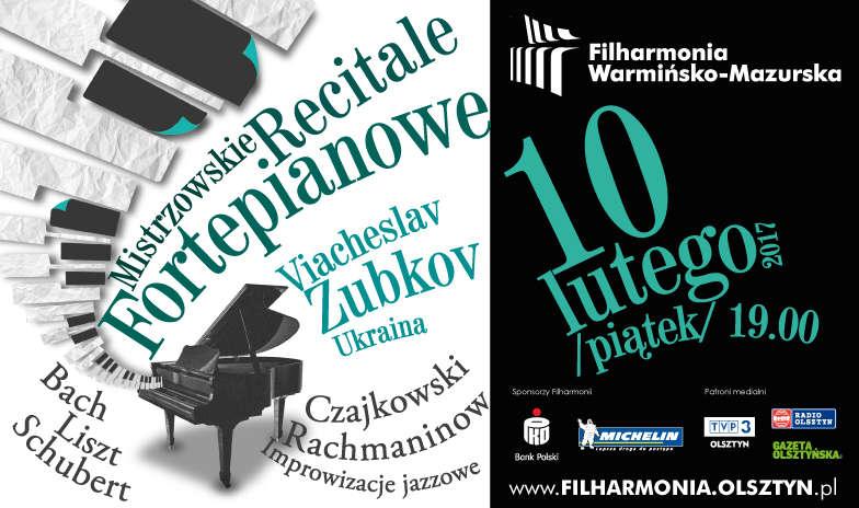 Mistrzowski Recital Fortepianowy - Viacheslav Zubkov ( Ukraina) - full image