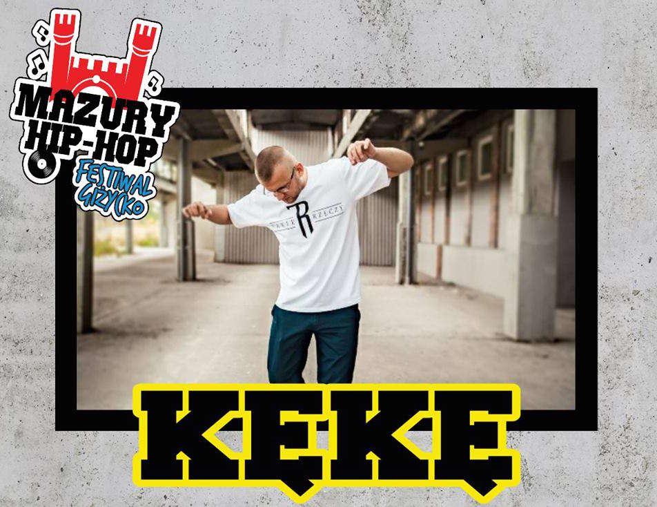 Kękę na Mazury Hip-Hop Festiwal 2017 - full image