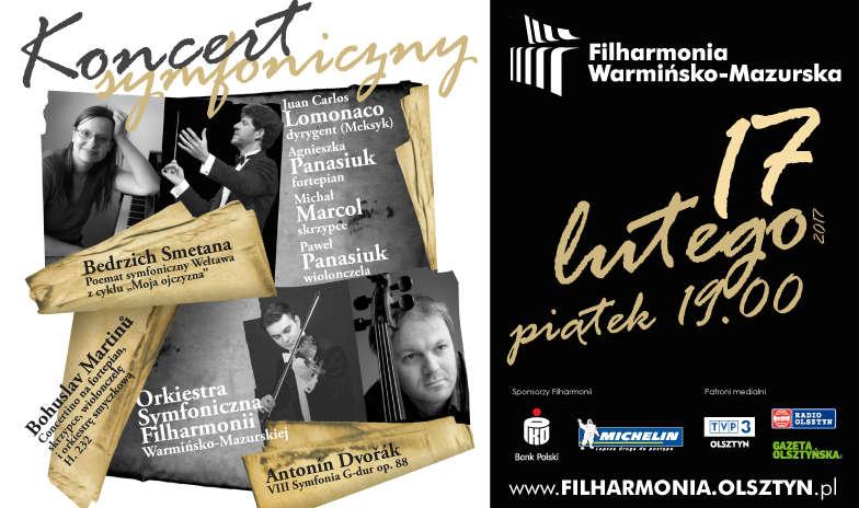 Smetana, Martinů, Dworzak, - wieczór z muzyką czeską - full image