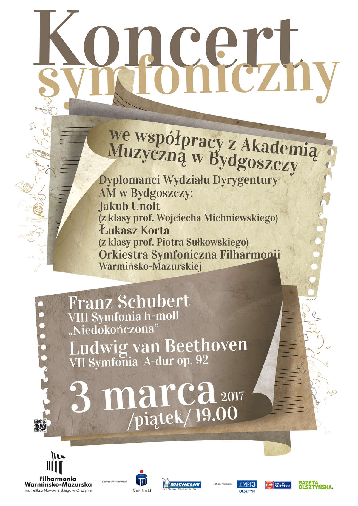 Koncert symfoniczny w filharmonii Warmińsko-Mazurskiej - full image