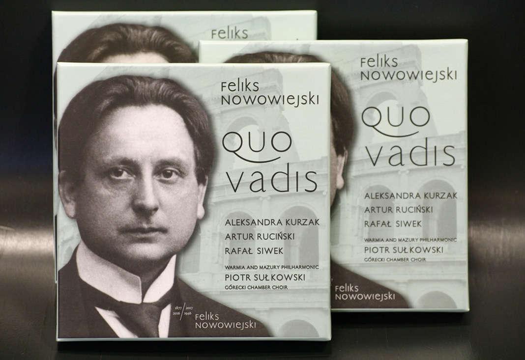 """""""Quo vadis"""" Feliksa Nowowiejskiego w sprzedaży od 7 lutego - full image"""