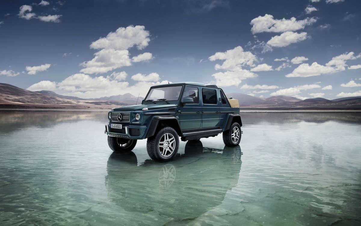 Mercedes-Maybach G 650 landaulet  — luksus w terenie  - full image