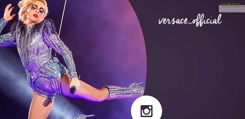 Podczas Super Bowl, Lady Gaga zachwyciła strojami od Versace - full image