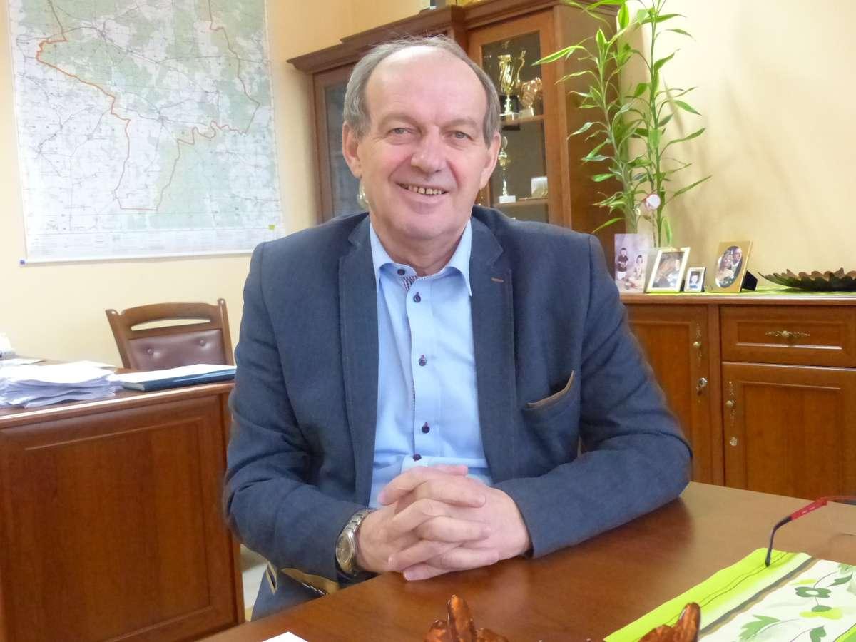 fot.1. Wójt Waldemar Szymański