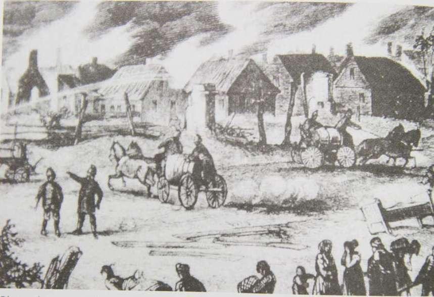 Olsztyn: wielki pożar w 1621 roku pochłonął prawie całe miasto - full image