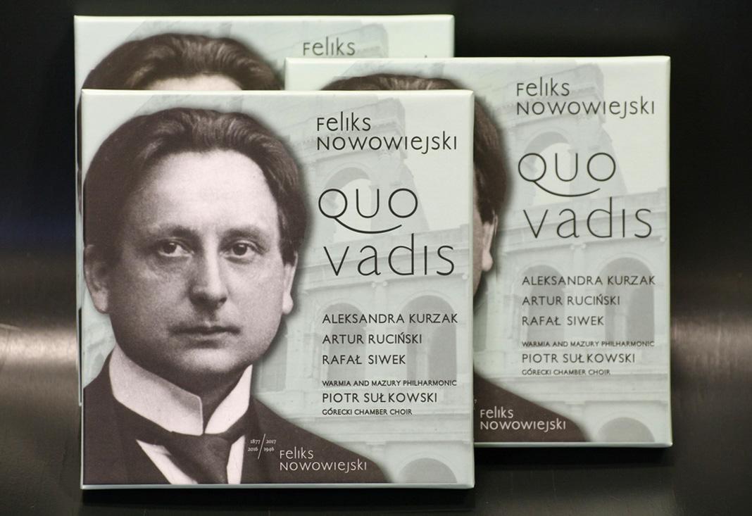 """Fryderyki 2017: Wśród nominowanych płyta """"Quo vadis""""olsztyńskiej filharmonii!"""