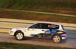 Sebastian Chrzanowski i Adam Binięda teraz będą poznawać trasy na Łotwie Fot. archiwum Schwarte Milfor Rally Team