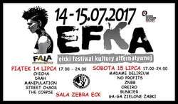 Ełcki Festiwal Kultury Alternatywnej EFKA 2017