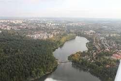 Okolice Jeziora Długiego w Olsztynie