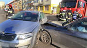 Wypadek na Limanowskiego w Olsztynie. Utrudnienia w ruchu