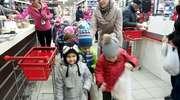 Wycieczka przedszkolaków do marketu