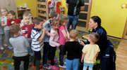 """Przedszkolaki z """"Gugusia"""" spotkały się policjantami"""