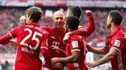 Hat-trick Roberta Lewandowskiego. Bayern rozbił HSV 8:0