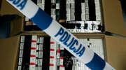 Przewoził blisko 2000 paczek papierosów bez polskich znaków skarbowych