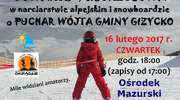 Lubisz poszaleć na nartach? Gmina Giżycko i Ośrodek Okrągłe zapraszają!