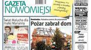 """Jutro od rana świeża """"Gazeta Nowomiejska"""""""