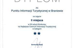 Braniewski Punkt Informacji Turystycznej wśród najlepszych