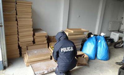 Przasnyscy policjanci zatrzymali nielegalnych handlarzy