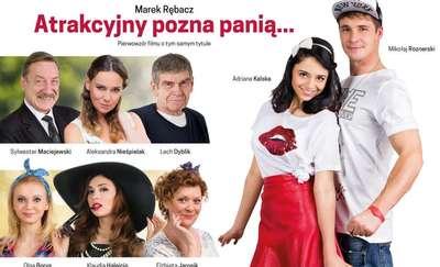 Atrakcyjny pozna Panią. Komedia w gwiazdorskiej obsadzie w Olsztynie